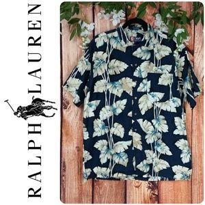 🌞 Ralph Lauren Chaps Floral Button Up Shirt